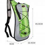 Theoutlettablet® Sac à dos étanche pour randonnée à vélo Bike Sac Hydratation Eau (2L) 5 litres sac à dos de la capacité de montagne - Randonnée - VTT - VTT - Type Camelbak de la marque image 3 produit