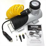 TireTek Compact-Pro Portable Tyre Pressure Inflator Pump - 12V 140W Air Compressor 40LPM de la marque image 4 produit