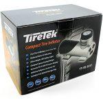 TireTek Compact-Pro Portable Tyre Pressure Inflator Pump - 12V 140W Air Compressor 40LPM de la marque image 6 produit