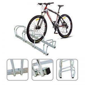 Todeco - Râtelier Familial pour Vélo, Support de Rangement Vélo - Dimensions: 99 x 32 x 26 cm - Type d'installation: Support mural - Peut contenir 4 vélos de la marque image 0 produit
