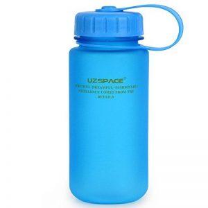 TOFERN Bidon Tritan Silicone Sans BPA Sport Multifonction Pour Randonnée Vélo Camping 1L/650ml/550ml/500ml/350ml rose/vert/bleu/gris de la marque image 0 produit