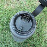 TOFERN Bidon Tritan Silicone Sans BPA Sport Multifonction Pour Randonnée Vélo Camping 1L/650ml/550ml/500ml/350ml rose/vert/bleu/gris de la marque image 3 produit