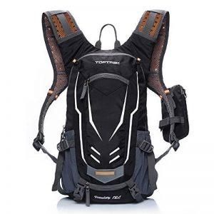 toptrek Ultra Léger Vélo Sac à dos étanche sac d'hydratation avec protection de pluie 18L Vélo de Sport Sac à Dos Sac à dos sport pour homme/femme de la marque image 0 produit