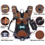 toptrek Ultra Léger Vélo Sac à dos étanche sac d'hydratation avec protection de pluie 18L Vélo de Sport Sac à Dos Sac à dos sport pour homme/femme de la marque image 2 produit