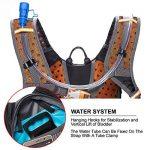 toptrek Ultra Léger Vélo Sac à dos étanche sac d'hydratation avec protection de pluie 18L Vélo de Sport Sac à Dos Sac à dos sport pour homme/femme de la marque image 4 produit
