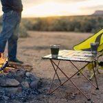 Trekology Portable Compact Chaise de camping avec hauteur réglable–ultraléger backpacking Chaise dans un sac pour le camping, la pêche, pique-nique, terrasse, Sports, événements, de la marque image 6 produit