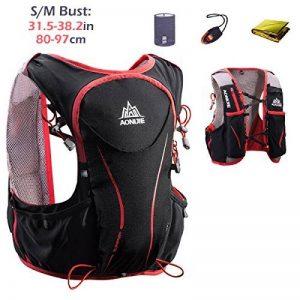 Triwonder Sac à dos Hydratation 5L Léger Deluxe Marathoner Course Running Hydration Vest de la marque image 0 produit