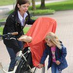 Trockolino Housse de pluie pour siège enfant de vélo et selle Noir de la marque image 3 produit