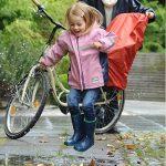 Trockolino Housse de pluie pour siège enfant de vélo et selle Noir de la marque image 1 produit