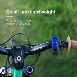 Vélo Bell, Zoegate invisible Sonnette de vélo en aluminium, Sonnette de vélo Mini Cyclisme Vélo Corne Anneau Bell pour n'importe quel Vélo, Corne Accessoires classique durable Net Loud Mode Q Motif de la marque image 4 produit
