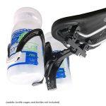 VeloChampion Double support pour porte-bidons Alliage noir pour velo de route et de triathlon Double Bottle Cage Mount de la marque image 3 produit