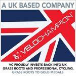 """VeloChampion - Mini pompe à vélo VeloChampion en alliage 9"""" gris métallisé / noir avec manomètre et support de fixation de la marque image 2 produit"""