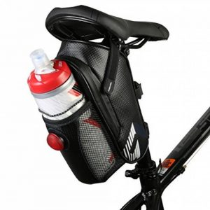 Vertast Vélo étanche Sac de selle vélo Support pour bouteille d'eau pour VTT CTB sous Assise sacoche de vélo avec feu arrière de la marque image 0 produit