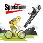 Victagen Mini Pompe à vélo portable 260 PSI avec jauge de pression, pompe à vélo haute pression, kit de réparation de pneu et embout pour gonfler les ballons, Aluminium haut de gamme, extrêmement léger de la marque image 6 produit