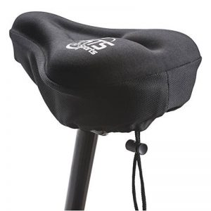 Supregear Vélo Coussin de siège Confortable Doux Large exercice Gel Vélo Housse De Siège