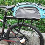 Vélo Porte Bagage, Universel Transporteur Porte bagages arrière de vélo bicyclette accessoires Équipement Vélo Racks avec Réflecteur pour de Longues de Cyclisme de la marque image 6 produit