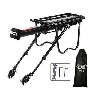 Vélo Porte Bagage, Universel Transporteur Porte bagages arrière de vélo bicyclette accessoires Équipement Vélo Racks avec Réflecteur pour de Longues de Cyclisme de la marque image 0 produit