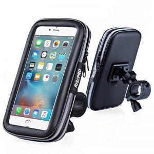 Vélo support de téléphone, Risepro® étanche étui universel pour vélo et support à montage pour moto résistant à la poussière pluie Neige iPhone 66S, 7, 7Plus de la marque image 0 produit
