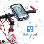 Vélo support de téléphone, Risepro® étanche étui universel pour vélo et support à montage pour moto résistant à la poussière pluie Neige iPhone 66S, 7, 7Plus de la marque image 3 produit