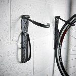VonHaus 2 Crochets de Rangement Muraux pour Vélos en Acier avec Revêtement Plastique de la marque image 2 produit