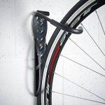 VonHaus 2 Crochets de Rangement Muraux pour Vélos en Acier avec Revêtement Plastique de la marque image 3 produit