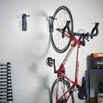 VonHaus 2 Crochets de Rangement Muraux pour Vélos en Acier avec Revêtement Plastique de la marque image 1 produit