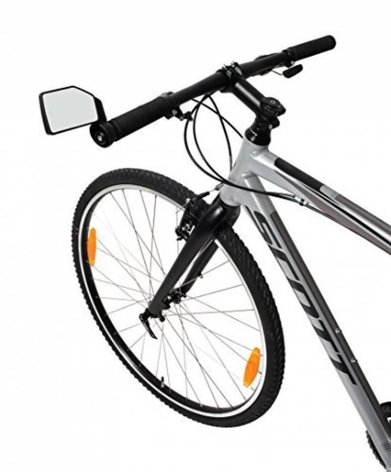 Zefal retroviseur Cyclope Convexe Vélo Miroir Pliable Noir Miroir Vélo