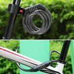 Zorkin Cadenas de vélo Câble de sécurité antivol de la marque image 6 produit