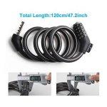 Zorkin Cadenas de vélo Câble de sécurité antivol de la marque image 1 produit